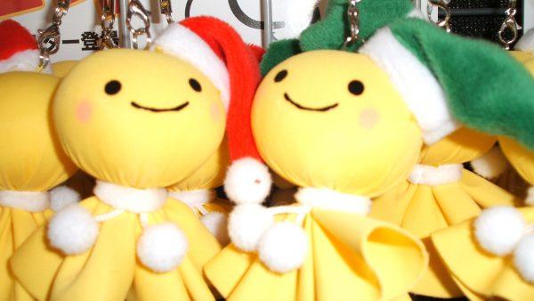 サンタの使いがやって来た!クリスマスてるぼう登場!