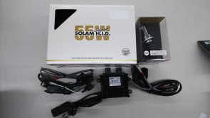 サインハウス ソーラムHID H4 4300K  55W ヘッドライトキット