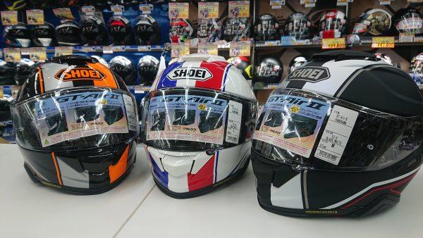 SHOEIヘルメット新作入荷!!