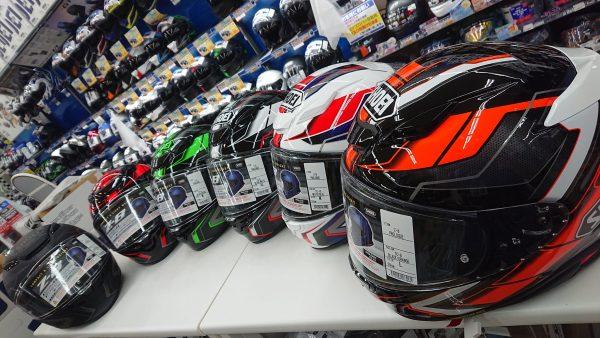 春のSHOEIヘルメット祭り!!