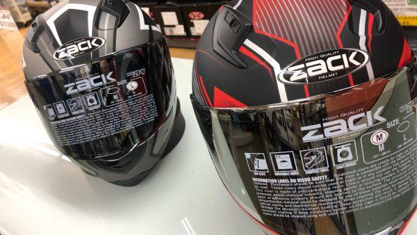 新しいヘルメットが入荷しました!!
