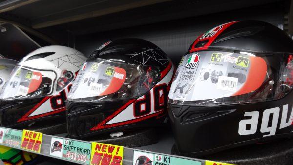 AGVヘルメット K-1 新色入荷!!