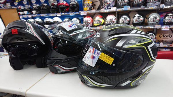 新色ヘルメット&便利アイテムのご紹介♪